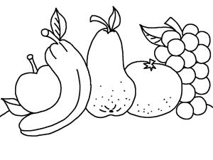 çocuklar Için Muz Meyve Boyama Thema Groente En Fruit Kleuterklas