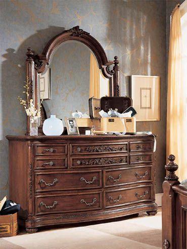 Best Lea Furniture Jessica Mcclintock Cherry 7 Drawer Dresser 640 x 480