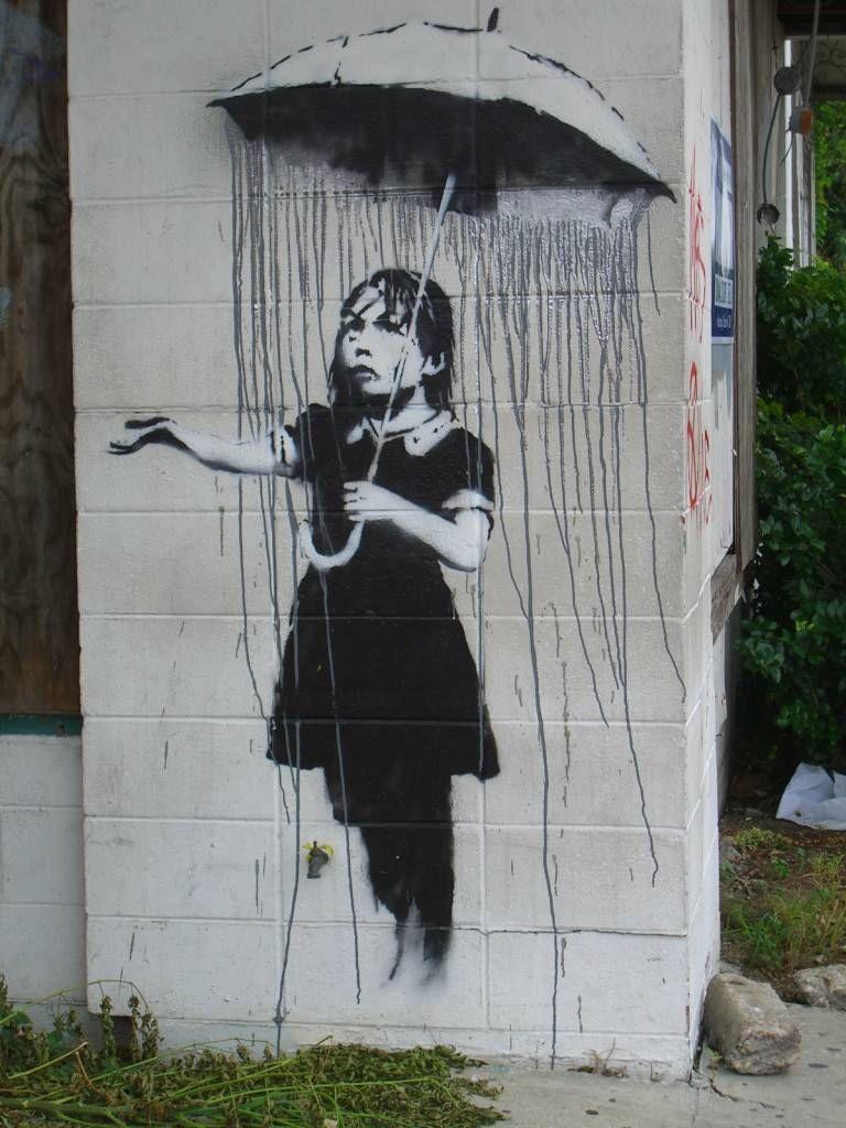 Banksy Park (Los Angeles, California). Banksy Parking Art