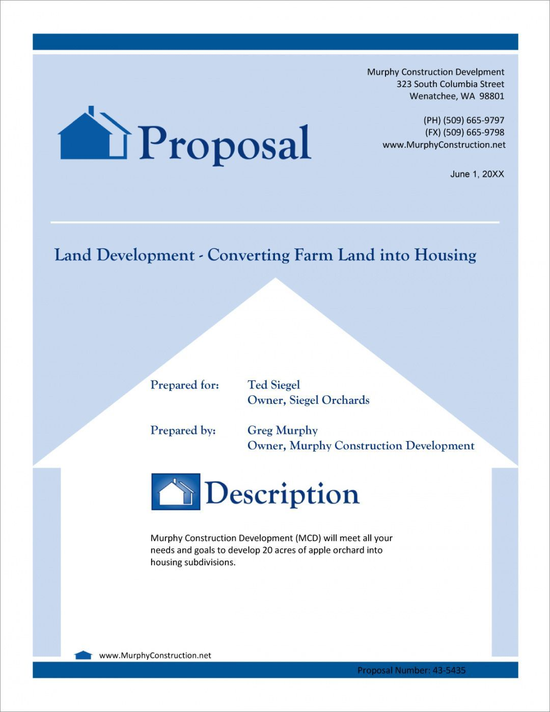 Commercial Real Estate Proposal Template Letter Templates Proposal Templates Lettering
