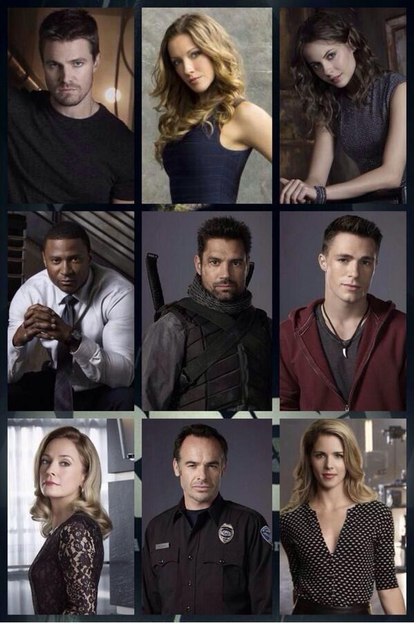 Arrow- great cast...incredibly attractive cast!