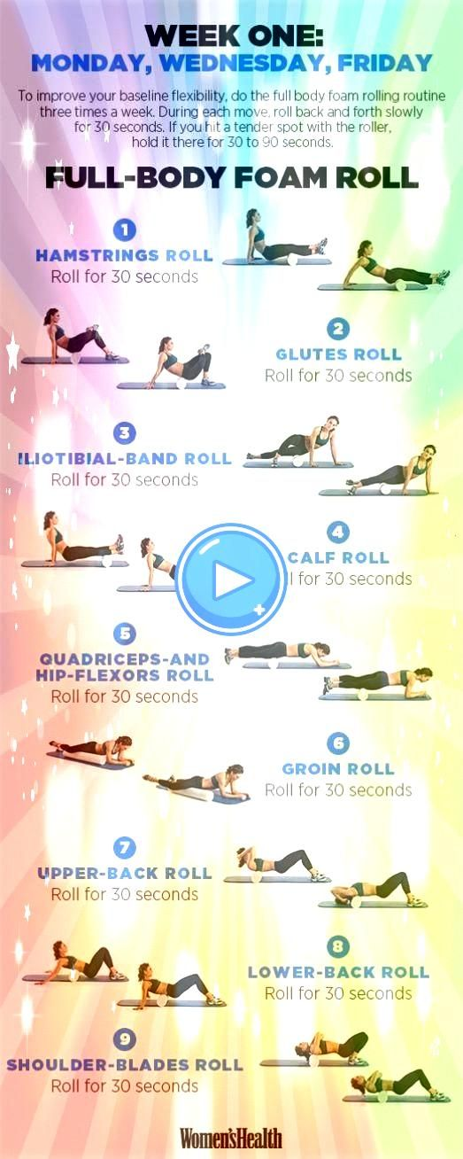 week full body foam roalone week full body foam roal Raise your hand if you have a foam roller gathering dust under your bed or in your closet Well whats it doing there Y...