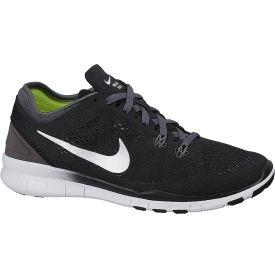 9cccb7c7a1dd7 Nike Women s Free 5.0 TR FIT 5 Training Shoe - Black White Grey ...