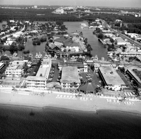 An Aerial Image Of Fort Lauderdale Beach From 1975.