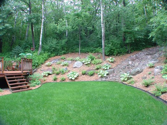 Proper Drainage Is An Essential Component Of Your Landscape Ald Inc Provides A Variety Of Drainage S Backyard Landscaping Hillside Landscaping Cottage Garden