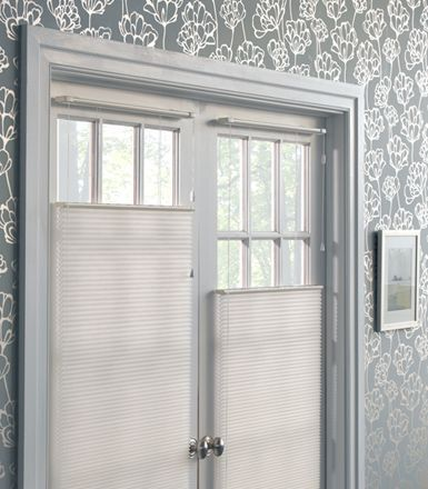 Cellular Honeycomb Shades Perfect For French Doors For The Home