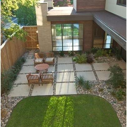 Modern Home Paver Patio Design Ideas Pictures Remodel And Decor Decor It Darling Diseno De Patio Paisajismo De Patio Patio Y Jardin
