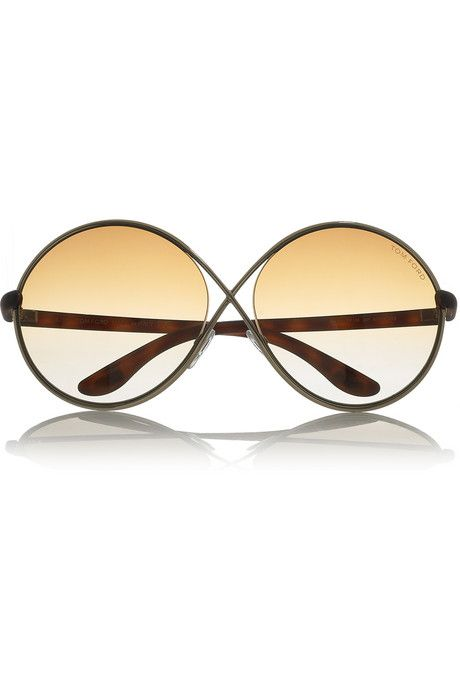 0c30d60509 Tom Ford Beatrix round-frame metal sunglasses  THEOUTNET  FashionMath