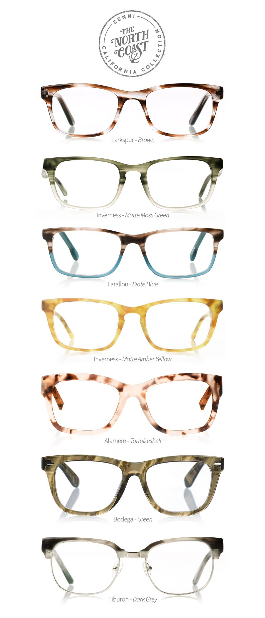 Shop our new collection inspired by Northern California. #Eyewear ...