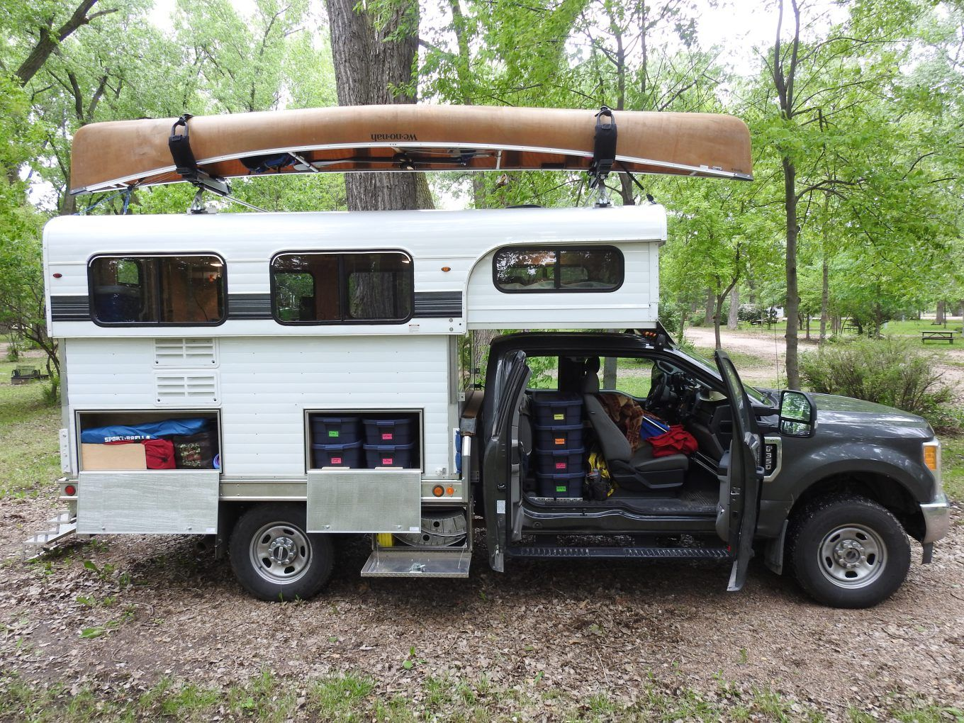 Three Month Retrospective Pop Up Truck Campers Flat Bed Truck