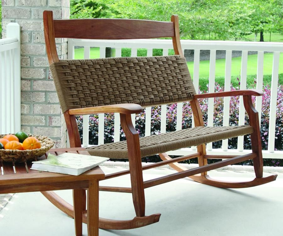 Love This Double Rocker Rocking Chair Porch Patio Rocking