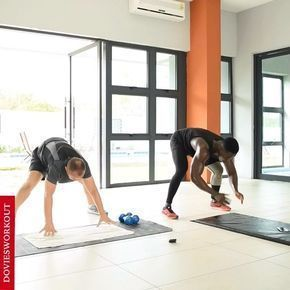 good abs workout with my client something to try at home