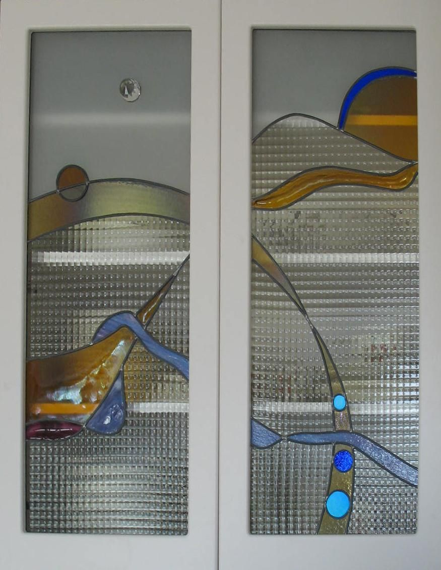free patterns for stained glass kitchen cabinet doors | Saratoga ...