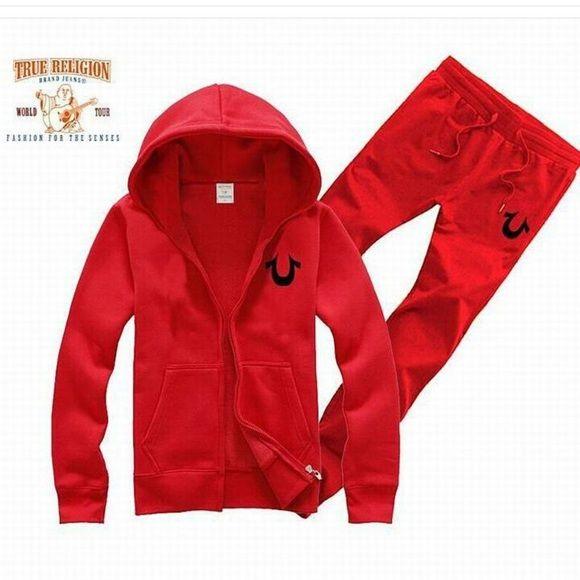 5500e2fa4122 Tru religion 2pc jogger suit True Religion Pants Jumpsuits   Rompers ...