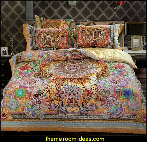 Leopard Bedding Exotic Theme Decorating