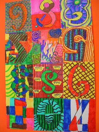 Numbers In Colour Lesson Plan Inspired By Jasper Johns