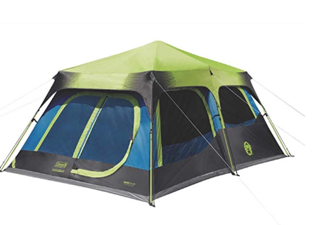 Coleman Cabin Tent With Instant Setup Cabin Tent For Camping Sets Up In 60 Seconds Best Tents For Camping Family Tent Camping Cabin Tent