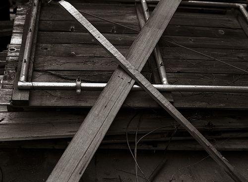 Wooden Cross, via Flickr.