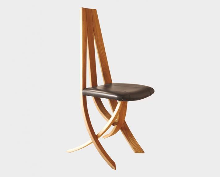 impressionnant chaise en bois et cuir