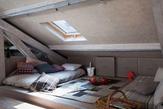 Chambre Sous Pente De Toit installer une chambre sous les toits : 9 photos pour aménager une