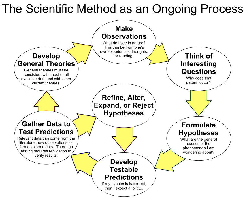 The Scientific Method as an Ongoing Process Scientific