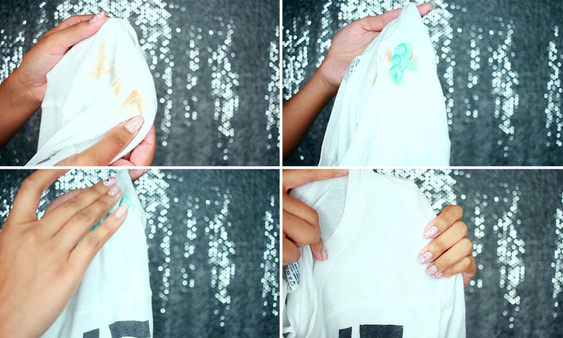 How to remove makeup stains from clothes in ONE MINUTE
