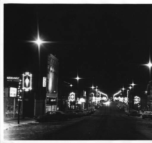 Christmas Lights On Main Street, Alliance, Ohio We Would
