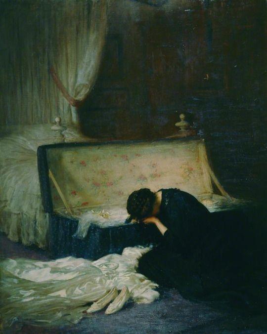 Frederick William Elwell: The Wedding Dress.