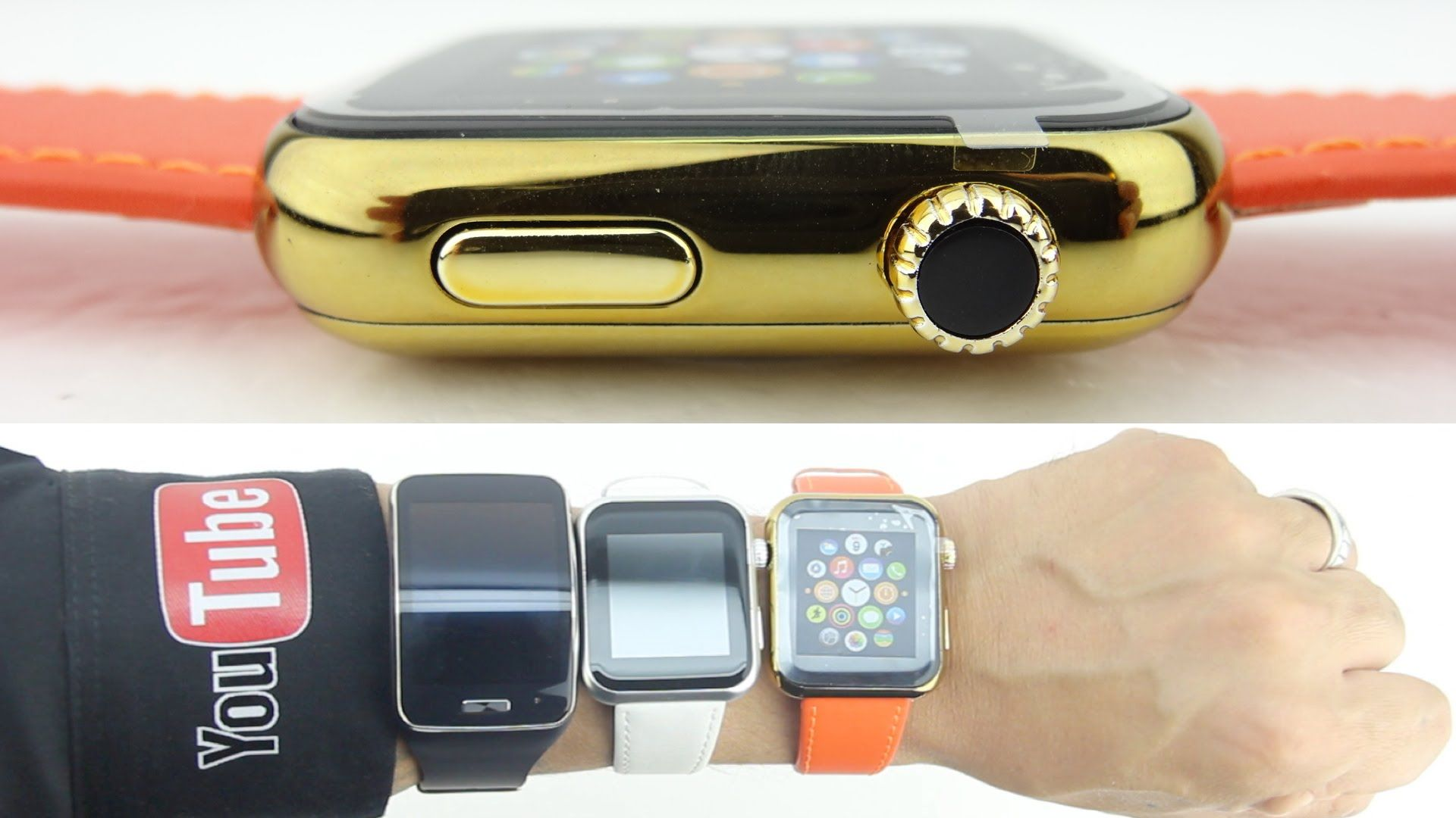 """18kt Gold Apple Watch """"Edition"""" Clone Unboxing/Size Comp"""