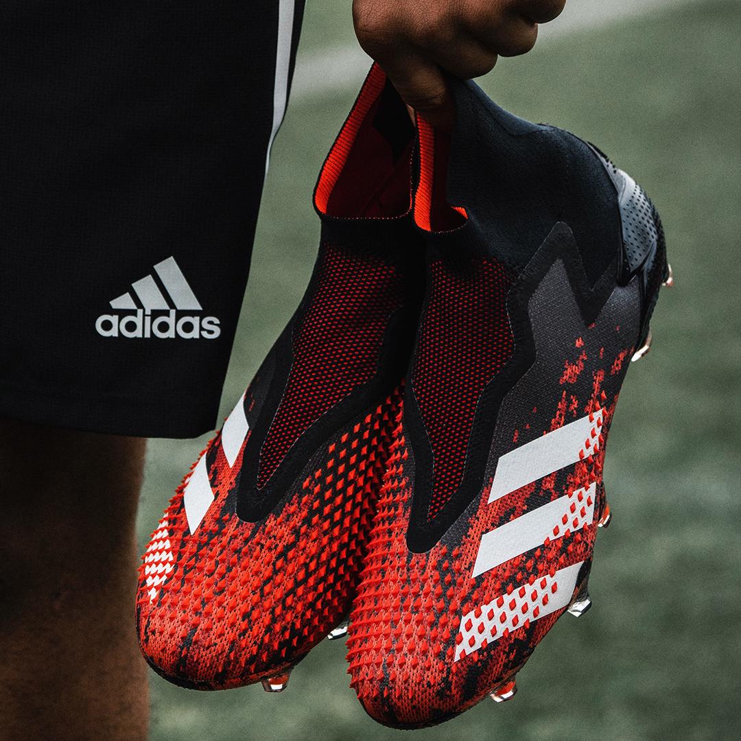 406 Spikes 100 Unfair The All New Predator 20 With Revolutionary Demonskin Technology Preda Predator Football Boots Soccer Cleats Nike Football Shoes