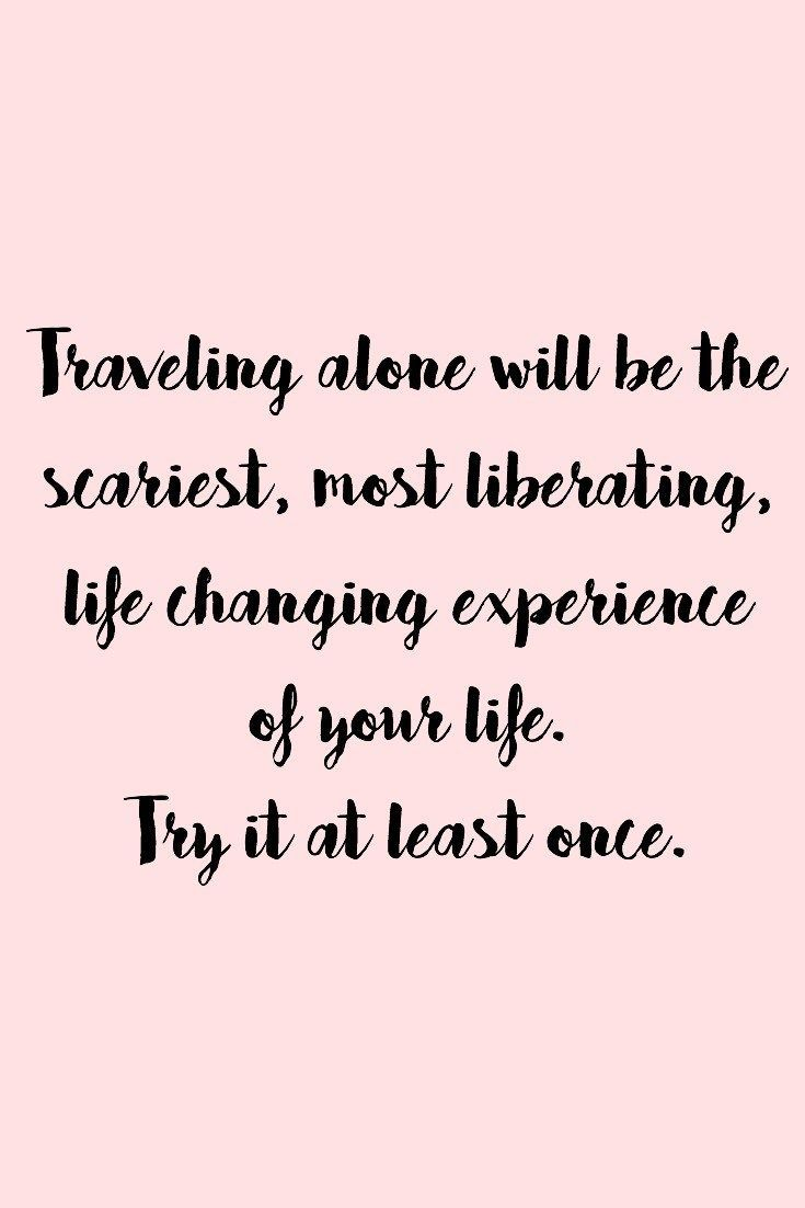 Travel Alone Quotes Cool Travel Quotes  Pinterest  Planets Explore And Check