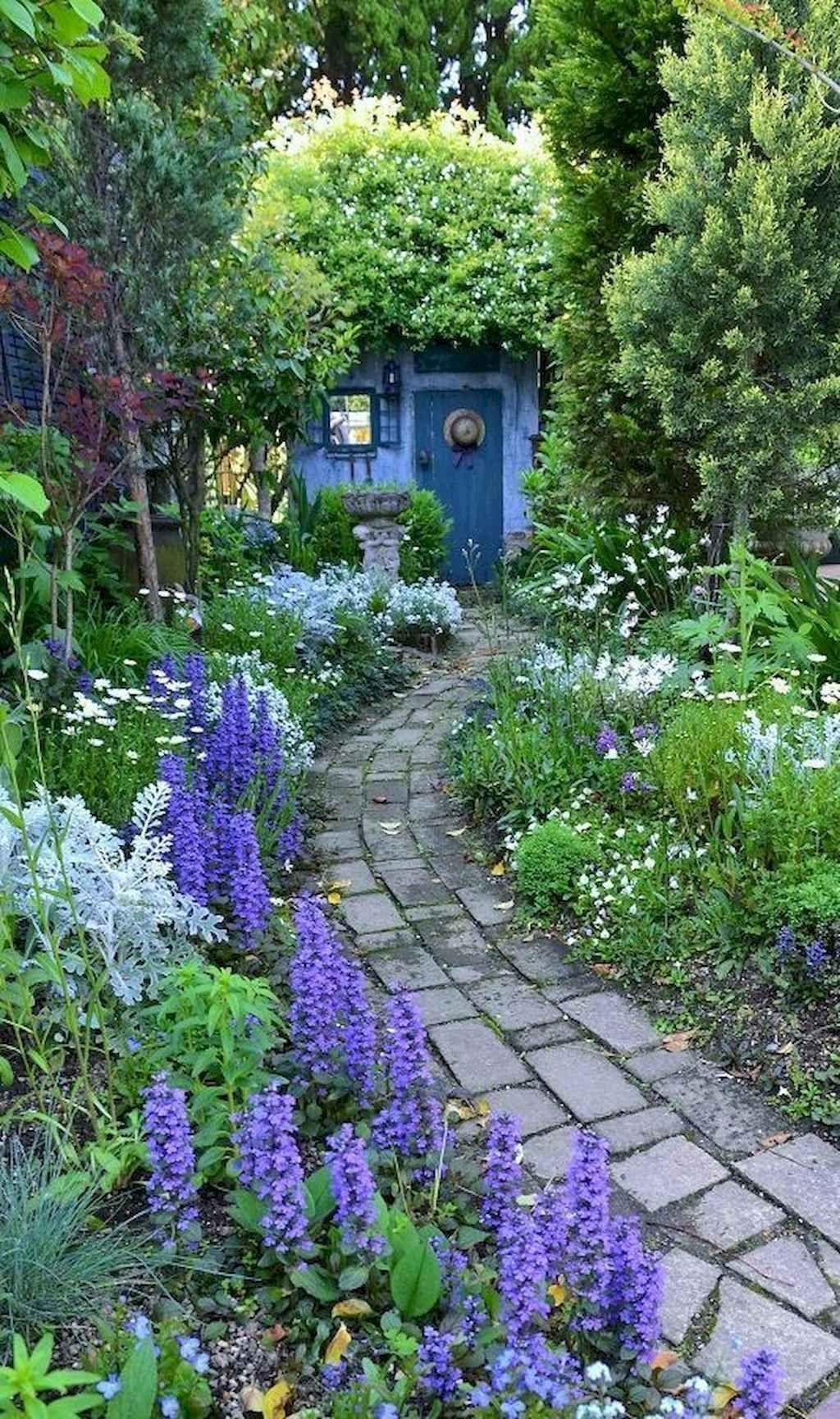 80 Stunning Cottage Garden Ideas For Front Yard Inspiration Cottage Garden Design Cottage Garden Beautiful Gardens