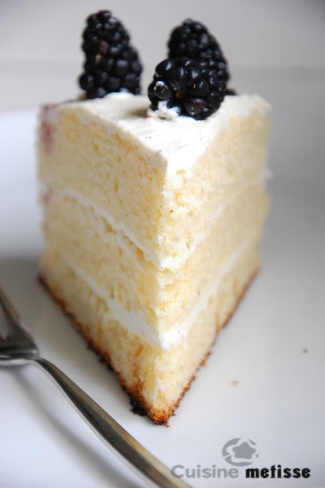 Lemon Layer Cake – gâteau à étages au citron   Cuisine Metisse