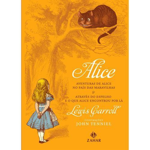 Livro Alice Edicao Bolso De Luxo Classicos Zahar Aventuras