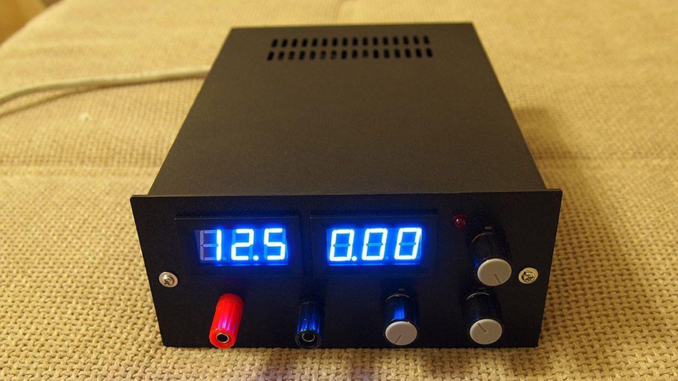 Bench Lab Power Supply 0 50v 0 5a Gadgetronicx Power Supply Design Power Supply Circuit Electronics Projects