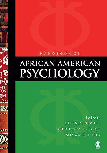 Handbook Of African American Psychology Null Paperback November 12 2008 In 2020 Black History Books Wisdom Books Psychology
