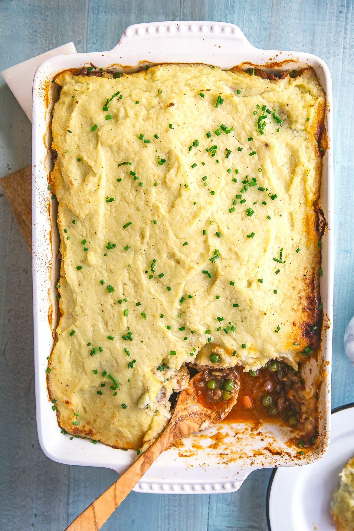 Whole30 ground turkey and cauliflower cottage pie Recipe