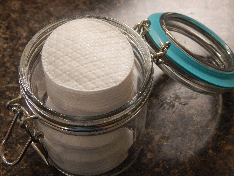 DIY Eye Makeup Remover Pads Diy makeup remover pads