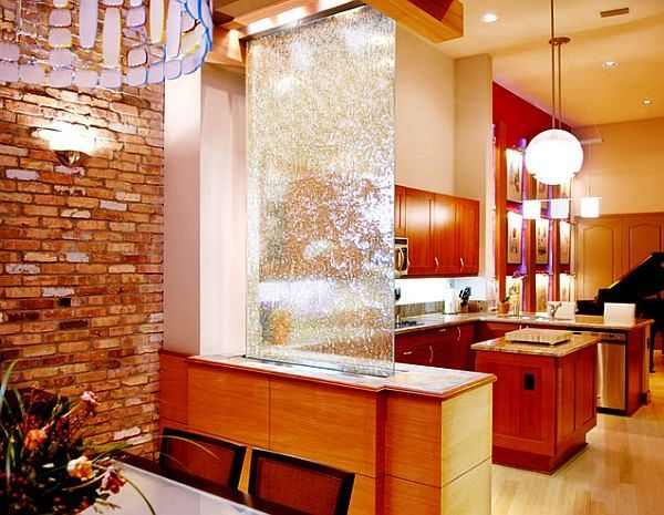 Image result for waterfall over glass in house | Home | Pinterest ...