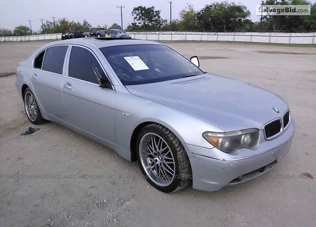 Salvage Silver Bmw 745 For Sale At San Antonio Tx Join Live