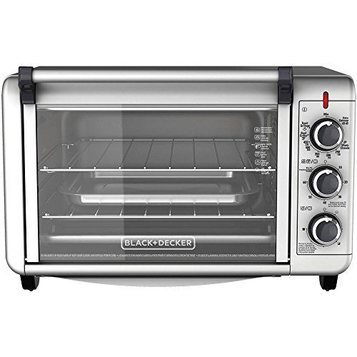 Black Decker Countertop Convection Toaster Oven With External