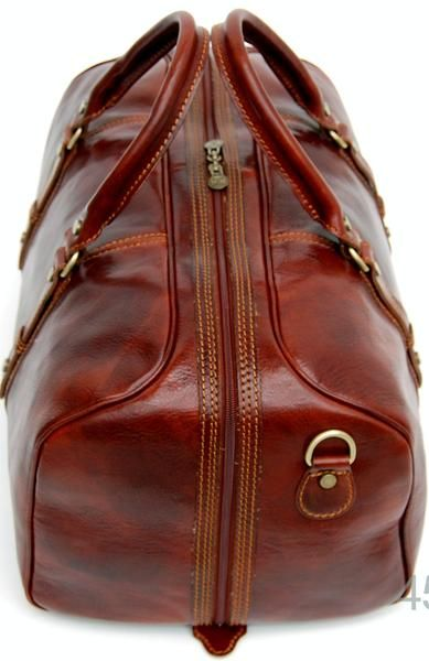 Genuine Italian Leather Holdall Tan Available in 3 Sizes 3 Colours is part of Leather overnight bag - Luxury Holdall available In 3 sizes and 3 colours with internal zipped pocket, detachable shoulder strap, twin carry handles, brown, dark brown, tan, cognac