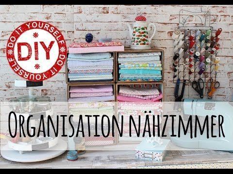 How To I Aufbewahrung Organisation Nahutensilien I Deko