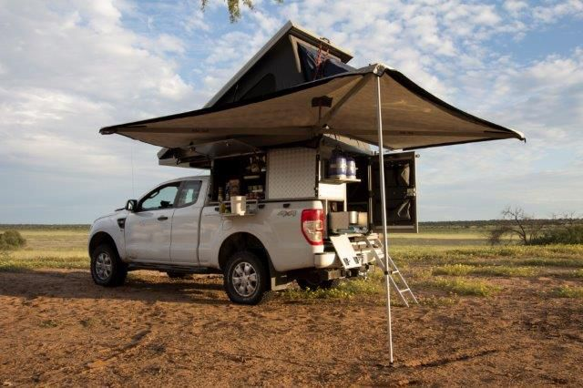 4x4 ford ranger luxury camper for two people pickup truck camping 4x4 ford ranger ford. Black Bedroom Furniture Sets. Home Design Ideas