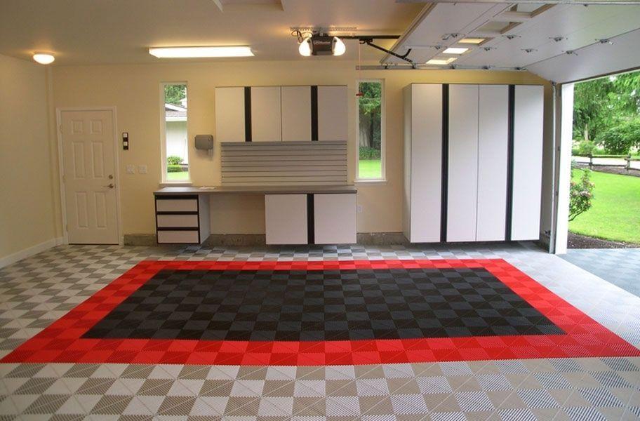 Ribtrax Tiles Cool Garages Garage Floor Tiles Garage