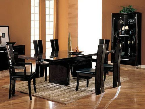Glass Top Dining Table Set 6 Chairs | Dining Tables | Pinterest ...