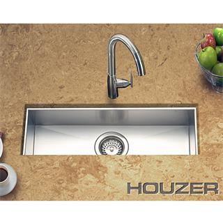 Check Out The Houzer CTB 2385 Contempo Zero Radius Undermount Trough Bar  Sink Priced At