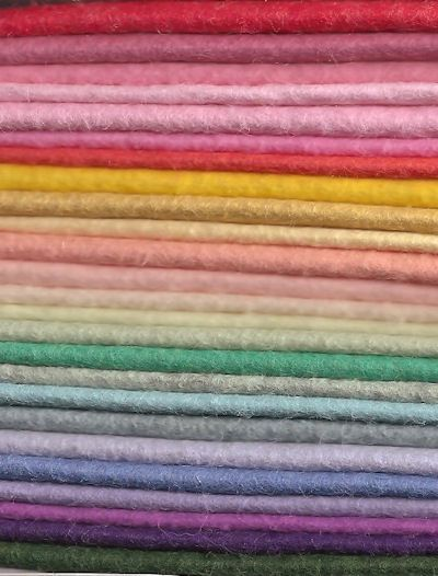 When I M Ready To Buy Wool Felt Go Here Felt Fabric Wool Felt Projects Felting Projects