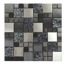 Metallic Random Mix Mosaic Tile