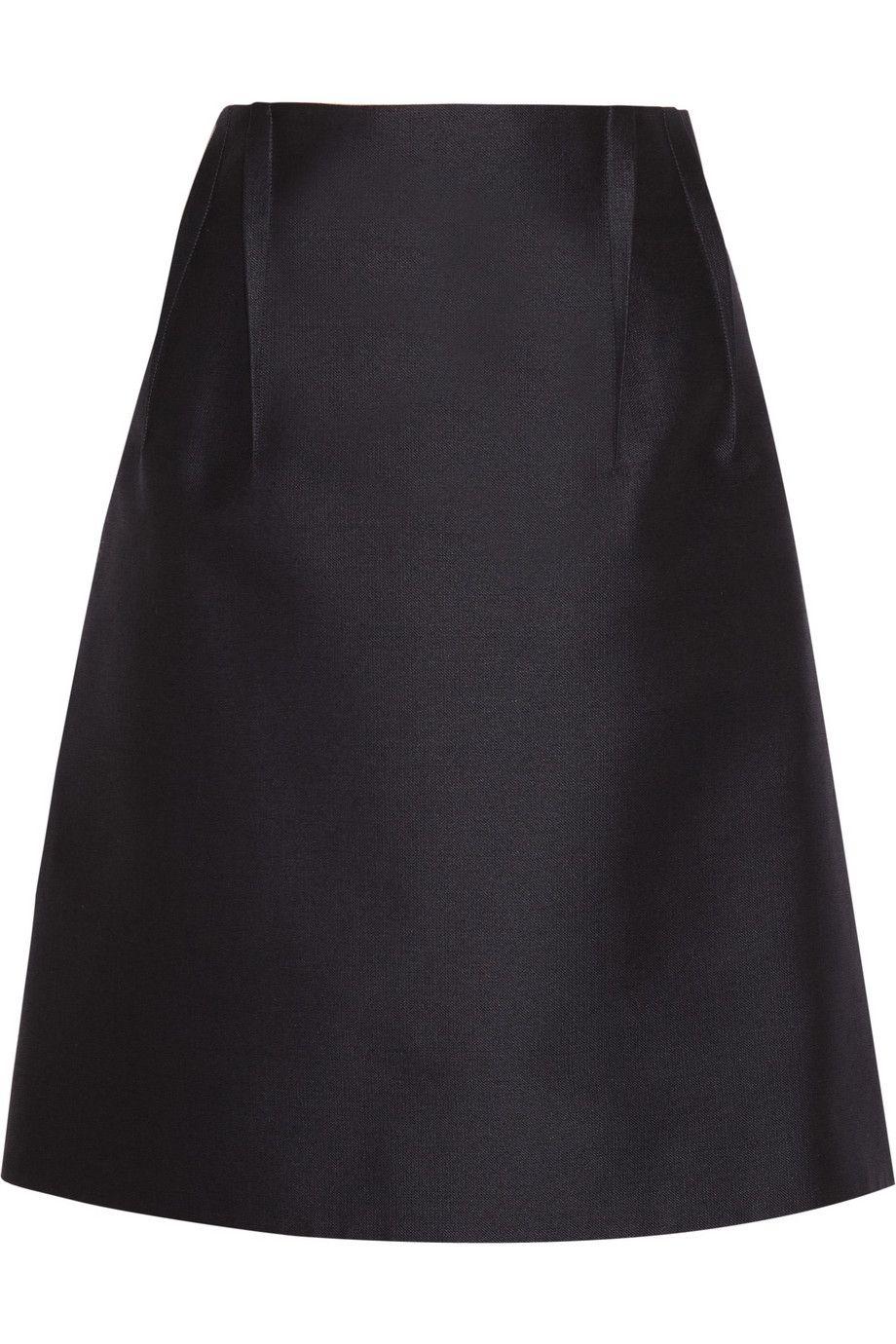 Jil Sander|Polka woven A-line skirt |NET-A-PORTER.COM